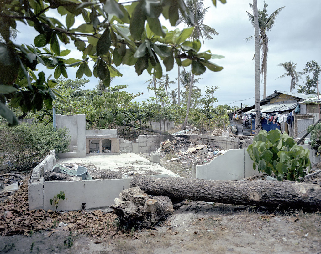 Devastated house, Malapascua