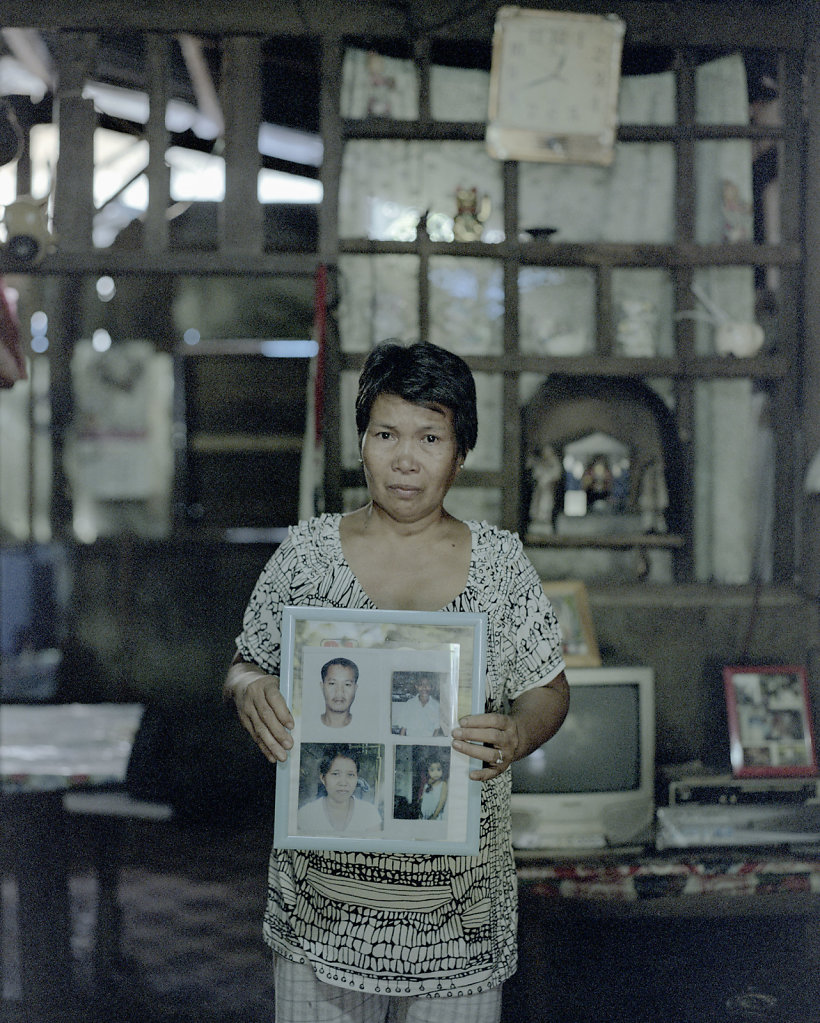 Nobita Tabulog, 55 years. One of her daughters still missing.