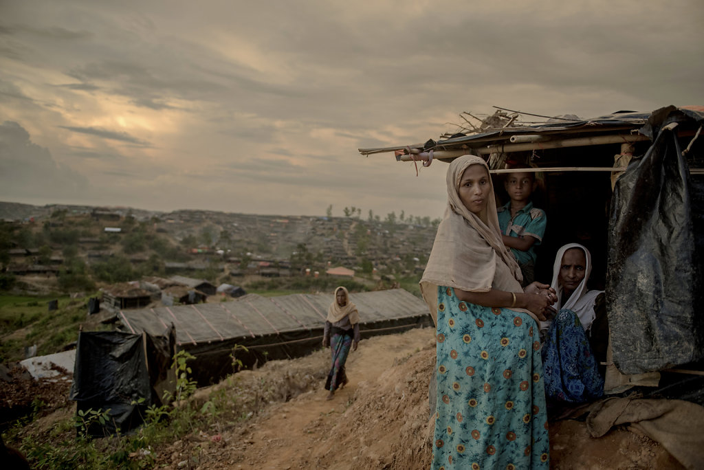 It's uncertain what the future will bring for the many rohingyas. But the next generations may turn to the idea of a life in a refugee camp.