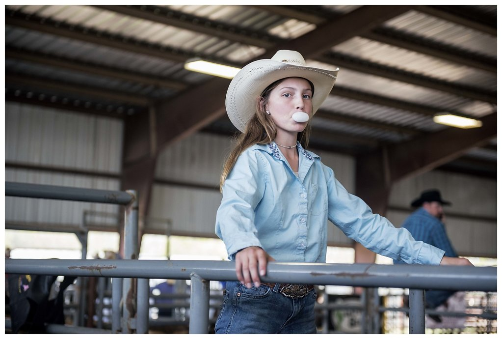 Cowgirl, Texas